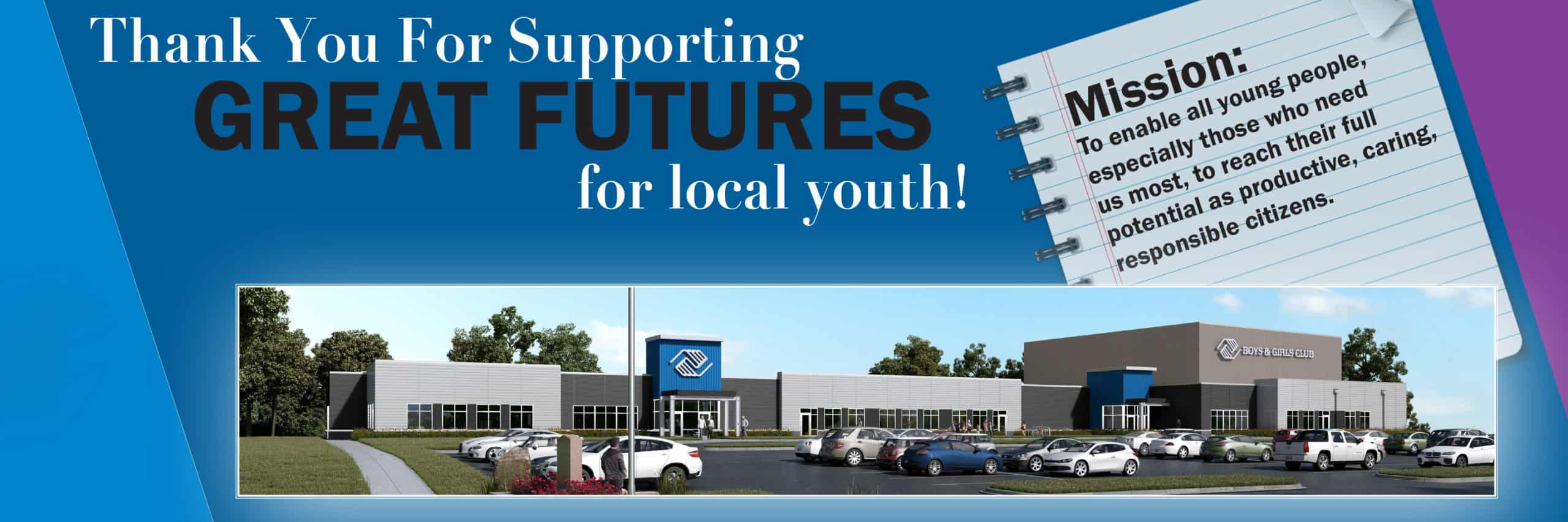 Thank you for supporting local youth