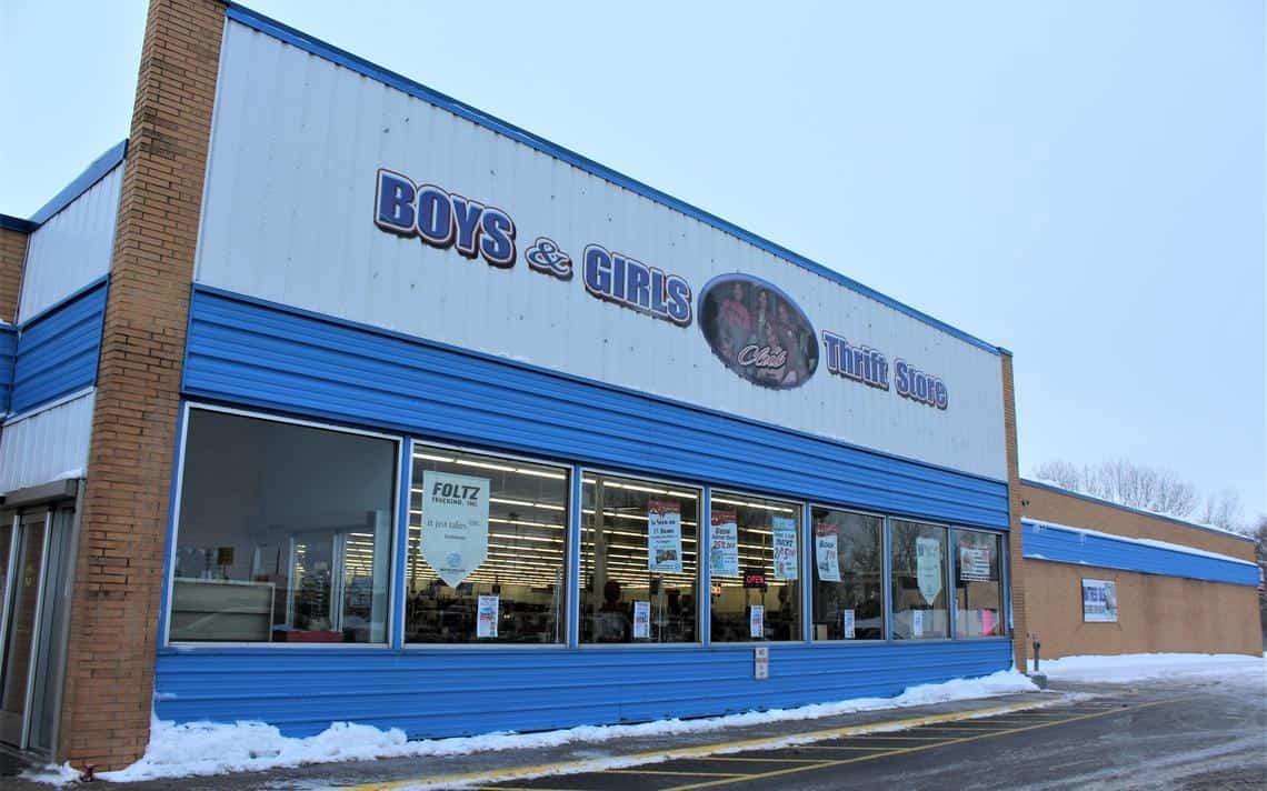 Boys & Girls Club Thrift Store in former Pamida building