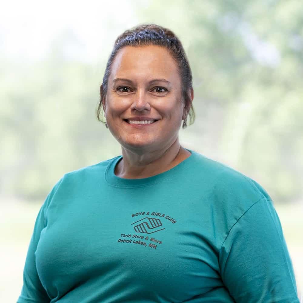 Sheila Bakke, Apparel Manager