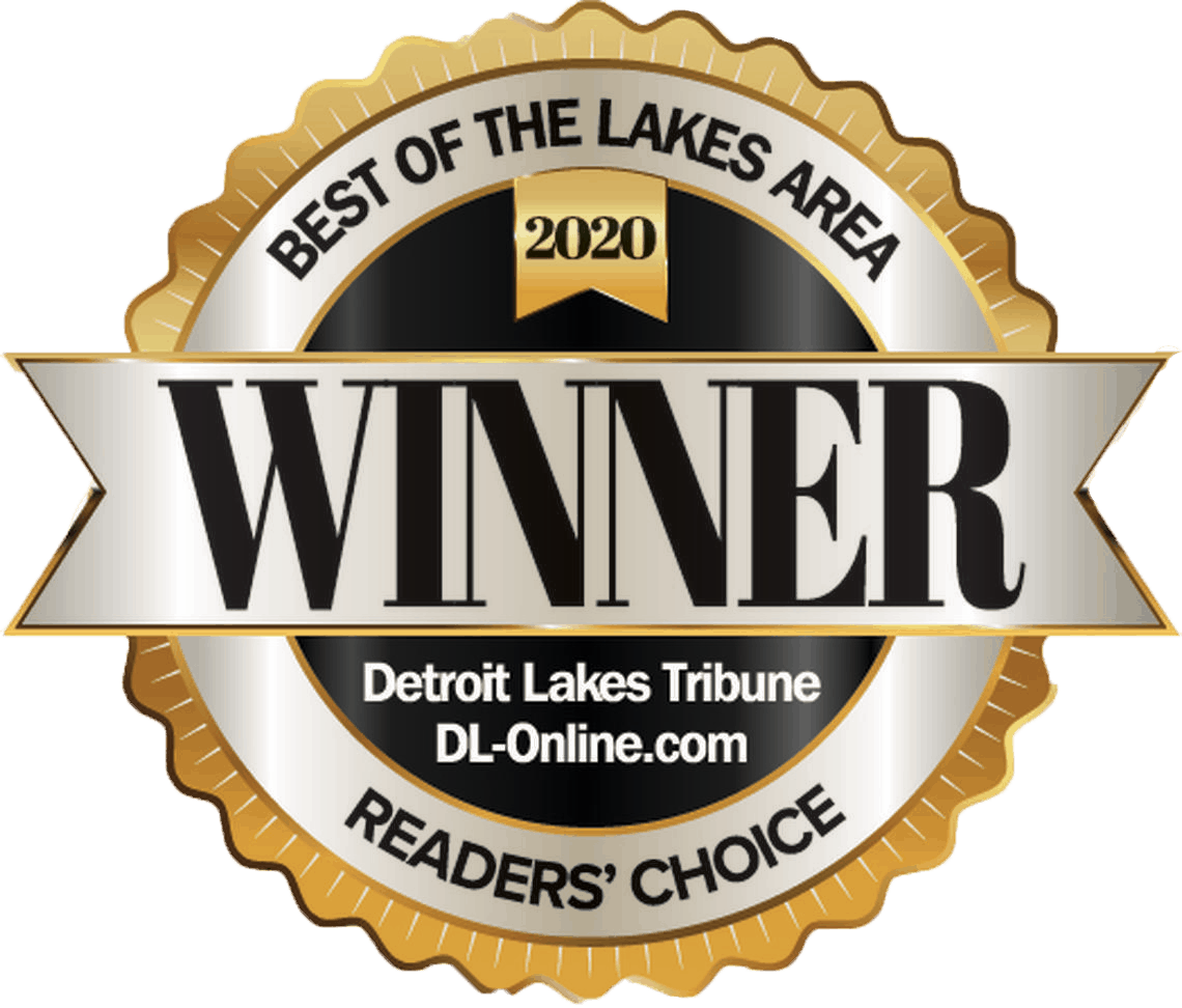 Best of the Lakes Area 2020 Readers' Choice Award